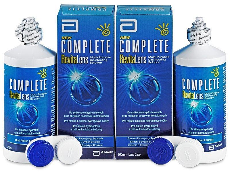 Complete RevitaLens kontaktlencse folyadék 2x360ml  - Gazdaságos duo kiszerelés - ápolószer