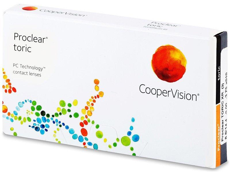 Proclear Toric XR (3db lencse) - Tórikus kontaktlencsék