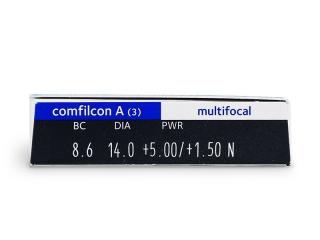 Biofinity Multifocal (3db lencse) - Paraméterek előnézete