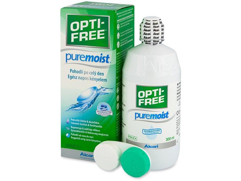 OPTI-FREE PureMoist kontaktlencse folyadék 300ml