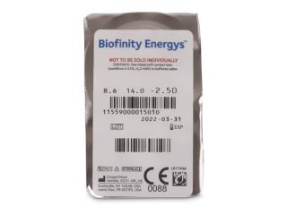 Biofinity Energys (6 lencse) - Buborékcsomagolás előnézete