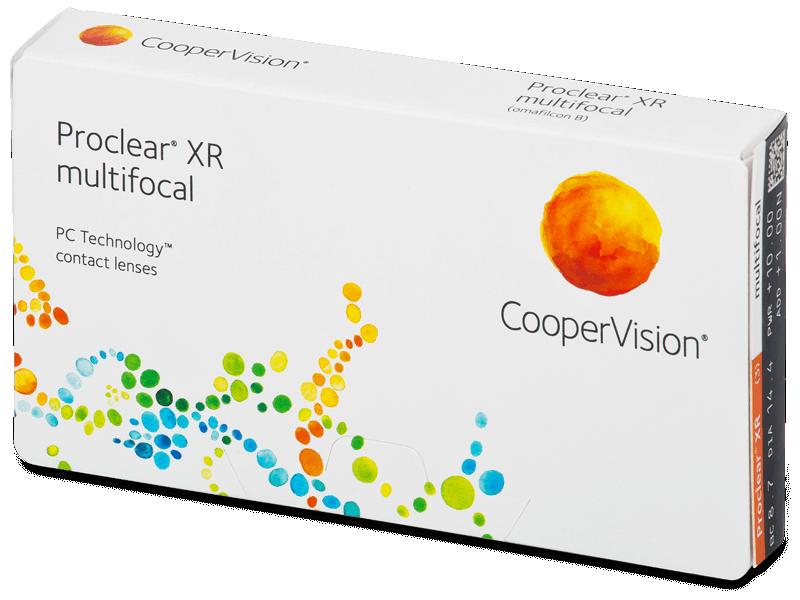 Proclear Multifocal XR (3db lencse) - Multifokális kontaktlencsék