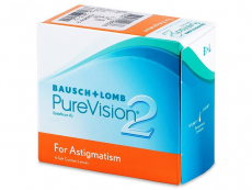 PureVision 2 for Astigmatism (6db lencse) - Tórikus kontaktlencsék