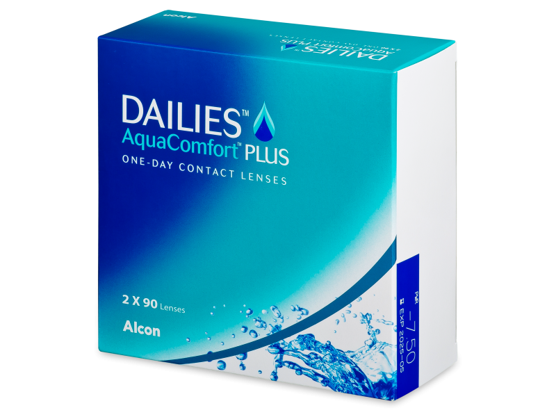 Dailies AquaComfort Plus (180 db lencse)