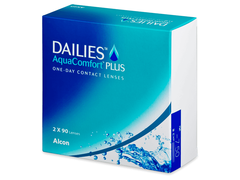 Dailies AquaComfort Plus (180db lencse) - Napi kontaktlencsék
