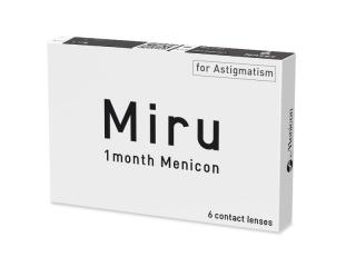 Miru 1 Month Menicon for Astigmatism (6 lencse) - Korábbi csomagolás