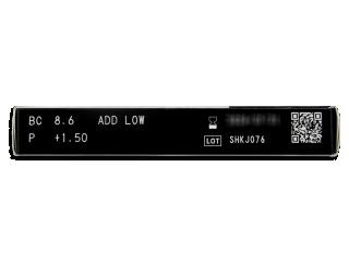 Miru 1 Month Menicon Multifocal (6 lencse) - Paraméterek előnézete