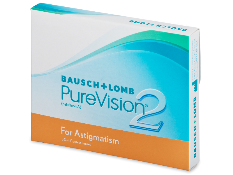PureVision 2 for Astigmatism (3db lencse) - Tórikus kontaktlencsék