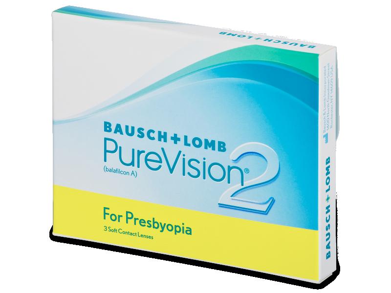 PureVision 2 for Presbyopia (3db lencse) - Multifokális kontaktlencsék