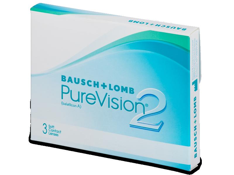 PureVision 2 (3db lencse) - Havi kontaktlencsék