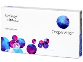 Biofinity Multifocal (6 db lencse) - Multifokális kontaktlencsék