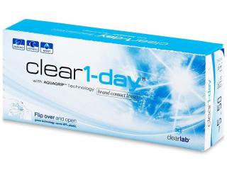 Clear 1-Day (30db lencse) - Napi kontaktlencsék