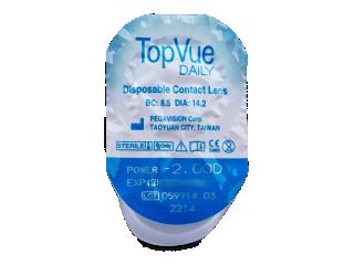 TopVue Daily (180db lencse) - Buborékcsomagolás előnézete
