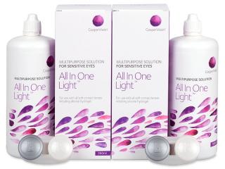 All In One Light ápolószer 2 x 360 ml  - Gazdaságos duo kiszerelés - ápolószer