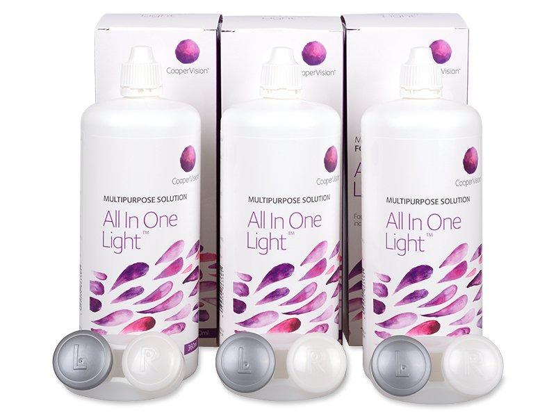All In One Light ápolószer 3 x 360 ml  - Gazdaságos hármas kiszerelés - ápolószer