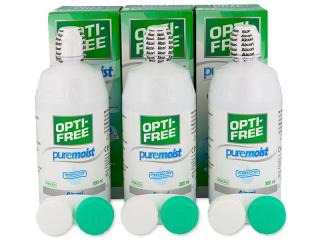 OPTI-FREE PureMoist kontaktlencse folyadék 3x300ml