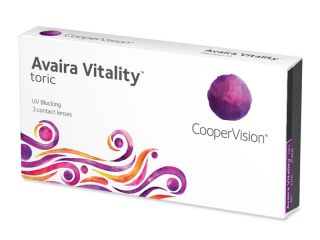 Avaira Vitality Toric (3 lencse)