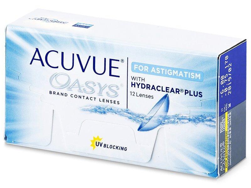 Acuvue Oasys for Astigmatism (12db lencse) - Tórikus kontaktlencsék