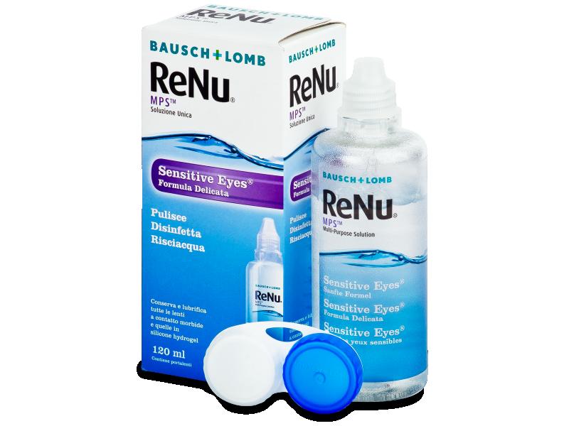 ReNu MPS Sensitive Eyes 120 ml ápolószer  - Ápolószer