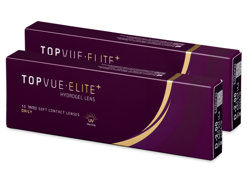 TopVue Elite+ (10 pár) - Napi kontaktlencsék