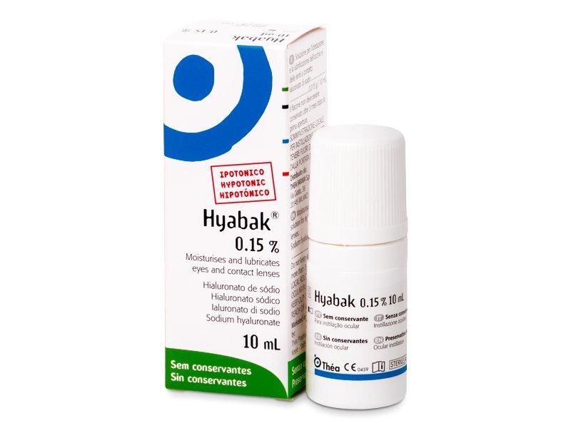 Hyabak szemcsepp 10 ml  - Szemcsepp
