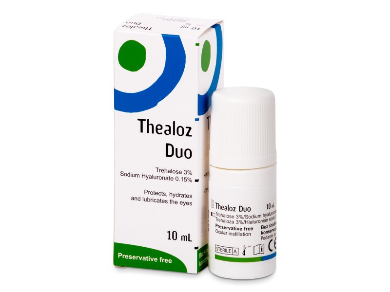Thealoz Duo szemcsepp 10 ml