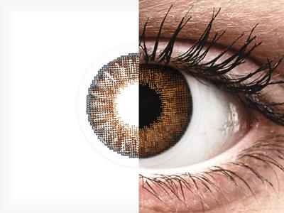 Air Optix Colors - Brown - dioptriával (2 db lencse)