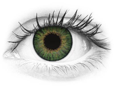 Air Optix Colors - Green - dioptriával (2 db lencse)