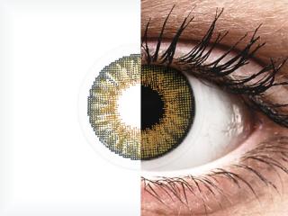 Air Optix Colors - Pure Hazel - dioptria nélkül (2 db lencse)