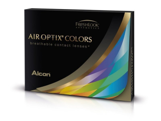 Air Optix Colors - Pure Hazel - dioptriával (2 db lencse)