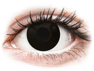 ColourVUE Crazy Lens - BlackOut - dioptria nélkül (2 db lencse)