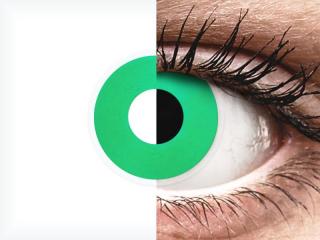 ColourVUE Crazy Lens - Emerald (Green) - dioptria nélkül (2 db lencse)