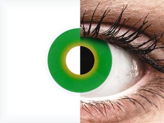 ColourVUE Crazy Lens - Hulk Green - dioptria nélkül (2 db lencse)