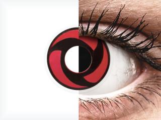ColourVUE Crazy Lens - Mangekyu - dioptria nélkül (2 db lencse)