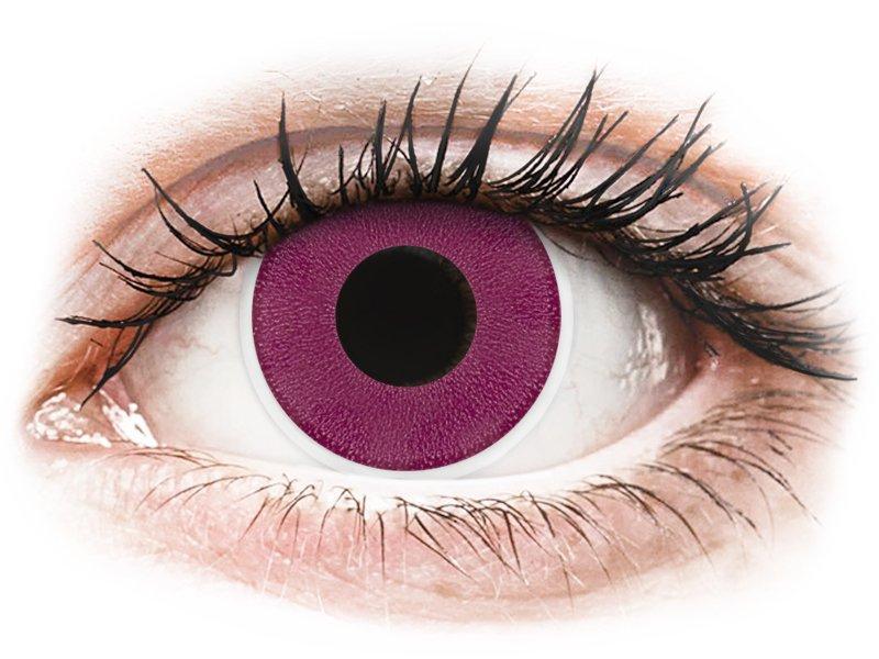 ColourVUE Crazy Lens - Purple - dioptria nélkül (2 db lencse)