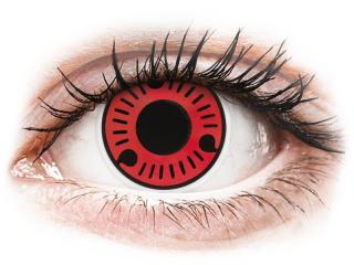 ColourVUE Crazy Lens - Sasuke - dioptria nélkül (2 db lencse)