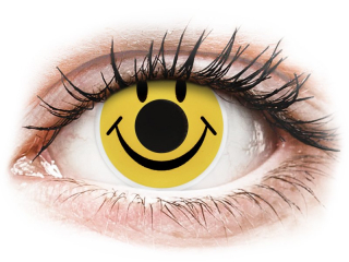 ColourVUE Crazy Lens - Smiley - dioptria nélkül (2 db lencse)