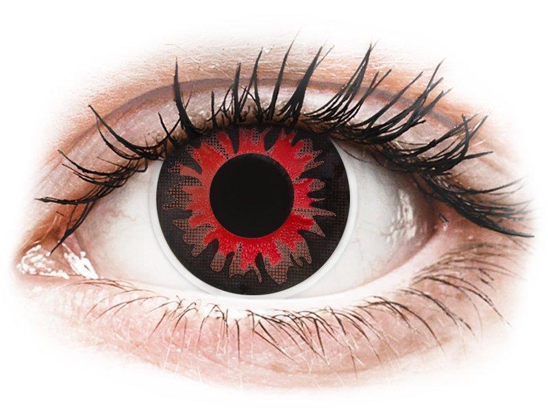 ColourVUE Crazy Lens - Volturi - dioptria nélkül (2 db lencse)