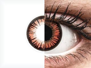 ColourVUE Crazy Lens - Vampire - dioptria nélkül (2 db lencse)