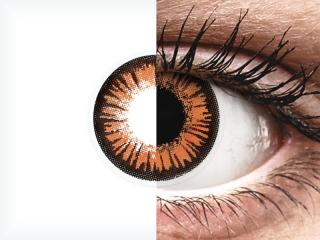 ColourVUE Crazy Lens - Twilight - dioptriával (2 db lencse)