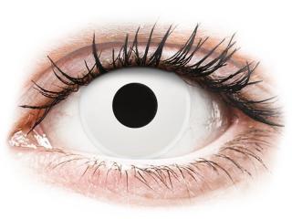 ColourVUE Crazy Lens - WhiteOut - dioptriával (2 db lencse)