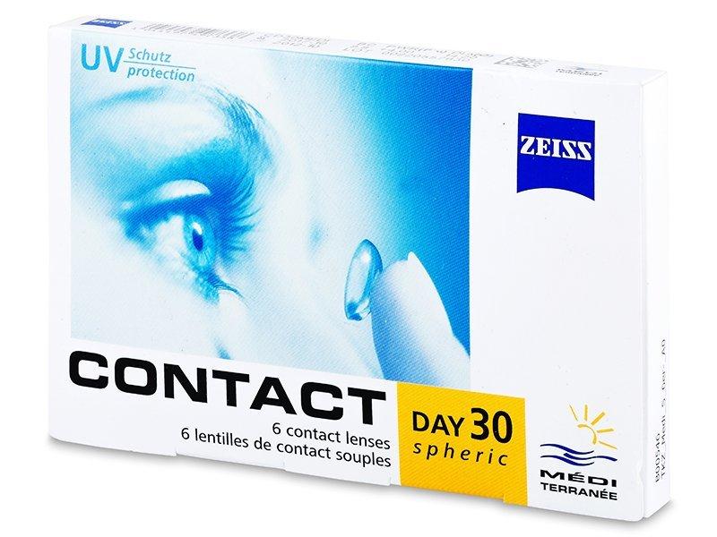 Carl Zeiss Contact Day 30 Spheric (6db lencse) - Havi kontaktlencsék