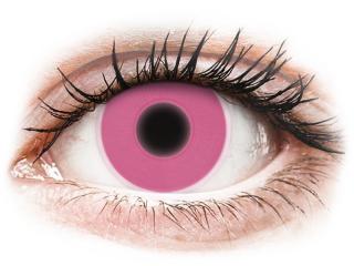 ColourVUE Crazy Glow Pink - dioptria nélkül (2 db lencse)
