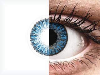 TopVue Color - Sapphire Blue - dioptria nélkül napi lencsék (10 db lencse)