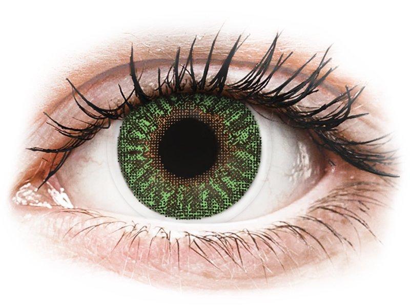 TopVue Color - Green - dioptria nélkül (2 db lencse)