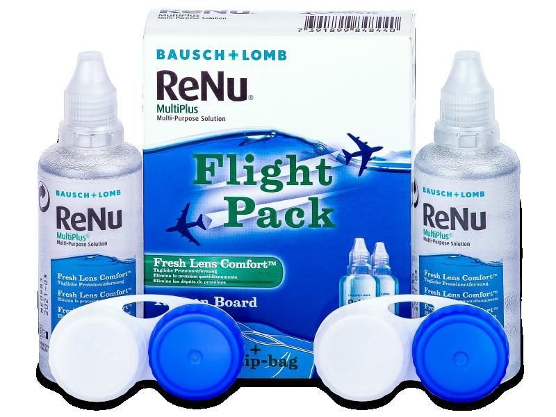 ReNu Multiplus flight pack 2 x 60 ml  - Ápolószer