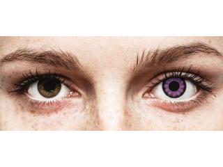 ColourVUE BigEyes Ultra Violet - dioptria nélkül (2 db lencse)