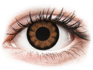 ColourVUE BigEyes Sexy Brown - dioptriával (2 db lencse)