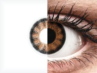 ColourVUE BigEyes Sexy Brown - dioptria nélkül (2 db lencse)