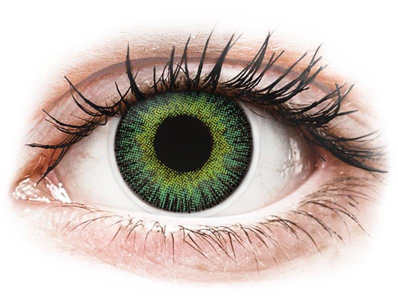 ColourVUE Fusion Green Yellow - dioptria nélkül (2 db lencse)